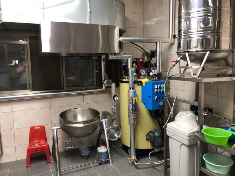 鍋爐蒸煮設備
