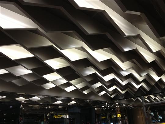 造型金屬天花板