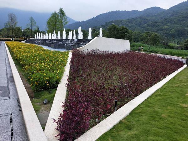 造景噴泉、景觀瀑布工程、園藝造景