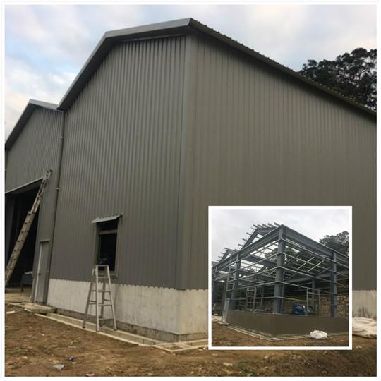 鐵皮屋鋼構工程