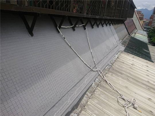 延平北路外牆斷水與防水