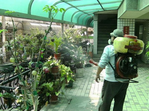 社區居家環境消毒