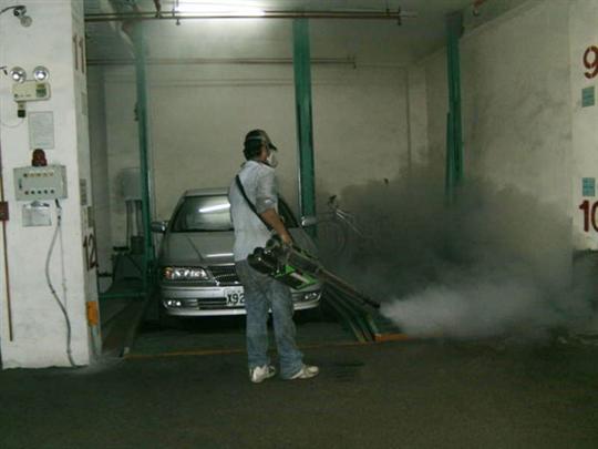 停車場環境消毒