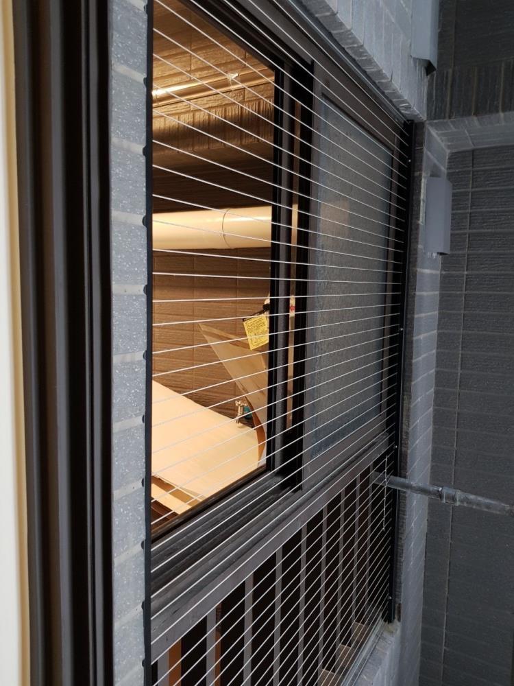 15-隱形鐵窗、大樓隱形防墜網0917-762-979