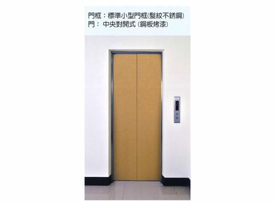 門框:標準小型門框(髮紋不銹鋼)
