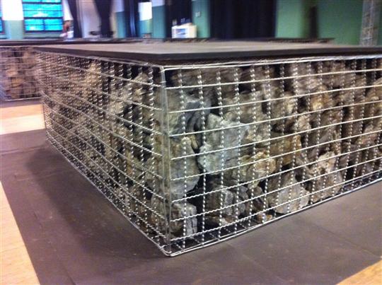 (工業風)盒狀形浪型網