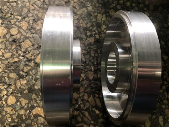 偷輕鋁製齒輪(未滾齒)