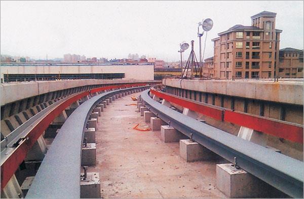 12-型鋼彎曲軌道工程、捷運軌道工程