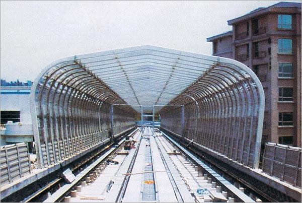 16-全罩式採光隧道型隔音牆
