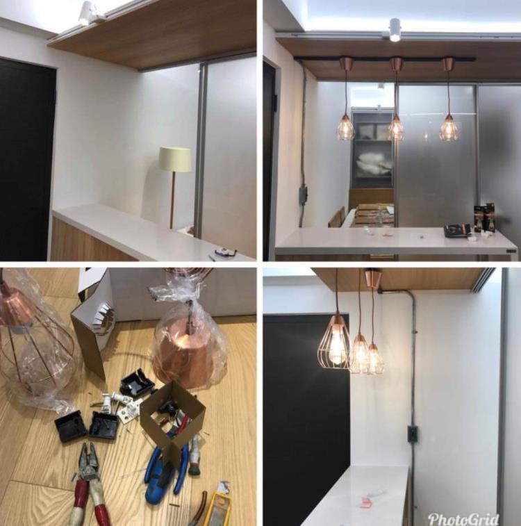 台北燈具安裝0970-085-651