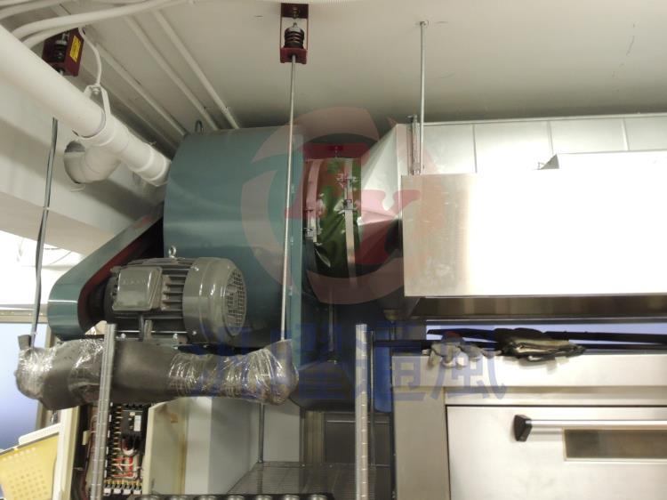 廚房油煙風管工程/)排氣式煙罩