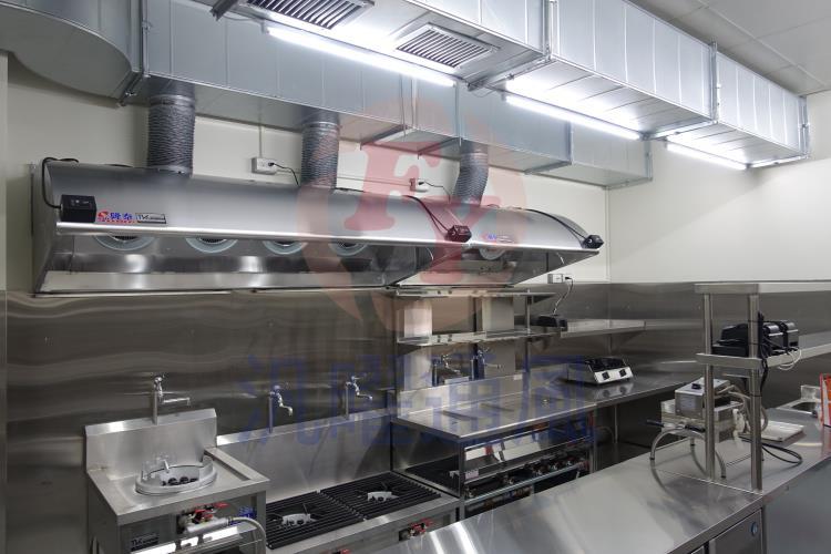 廚房油煙風管工程/瀘網式煙罩