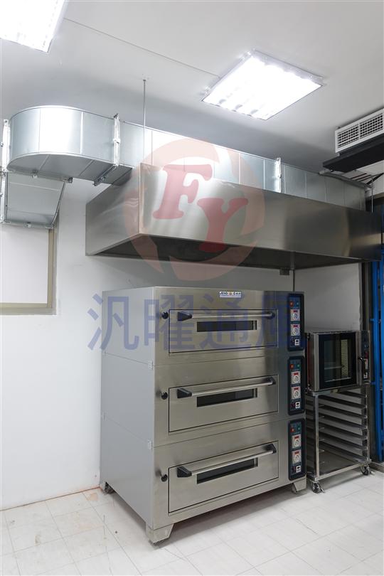 廚房油煙風管工程/排氣式煙罩