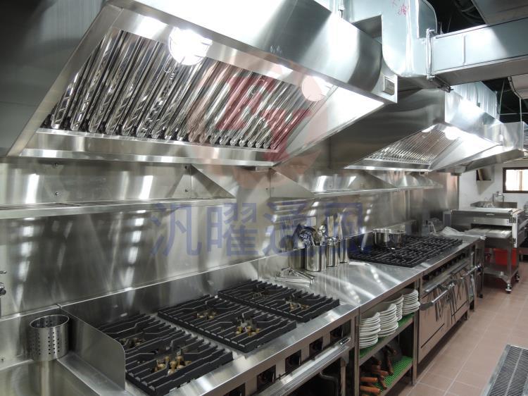 大廚房餐飲設備/(西式)瀘網式煙罩