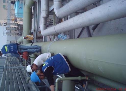 中美矽晶-空調機房配管工程