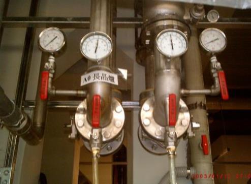 中美矽晶-長晶爐二次配管工程
