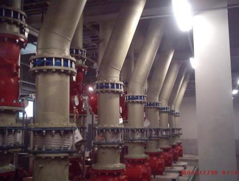 中美矽晶-冰水主機房配管工程