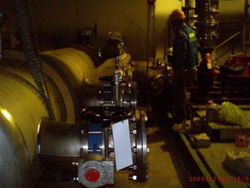 中美矽晶-製程冷卻水配管工程