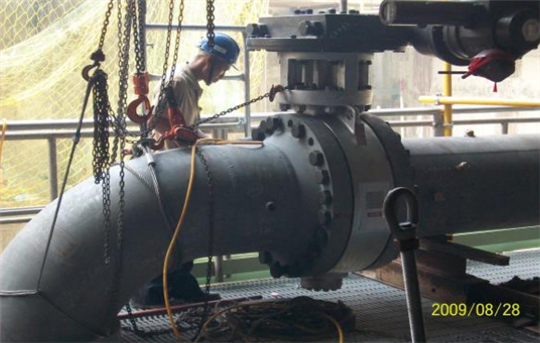 核四廠-汽機房2號機配管工程