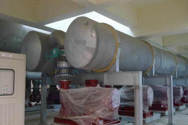 力成- 冰水主機房2400A配管工程 101年