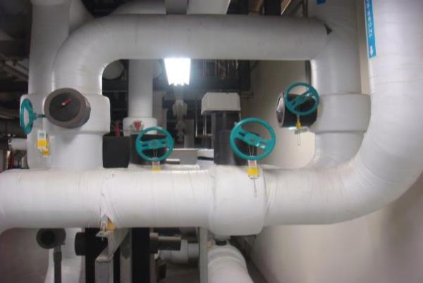 合晶-PCW配管、減壓閥工程 100年