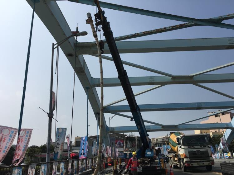 老舊橋梁橋索更換工程