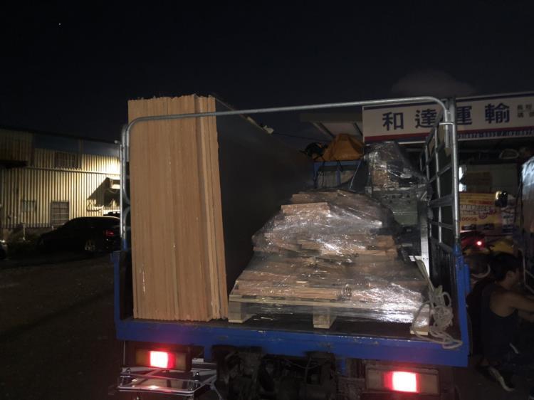 一般貨物夜間運送