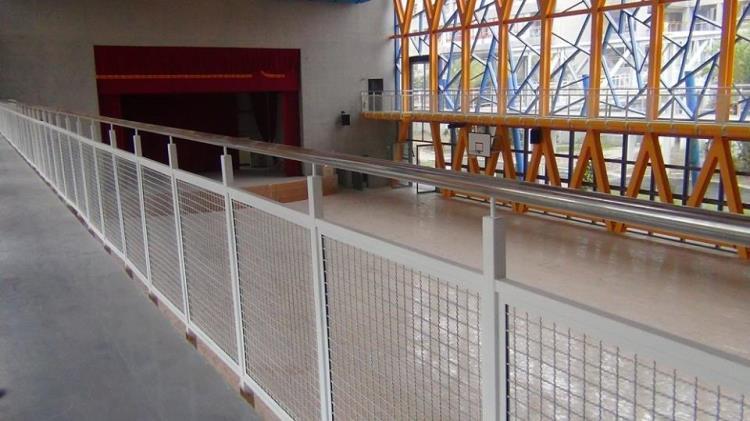 36-不銹鋼圓管鐵網欄杆02-24320498