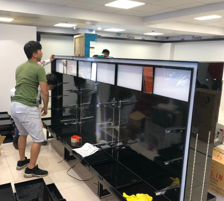 台北市康是美展示架運送+安裝+定位