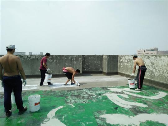 屋頂漏水修繕