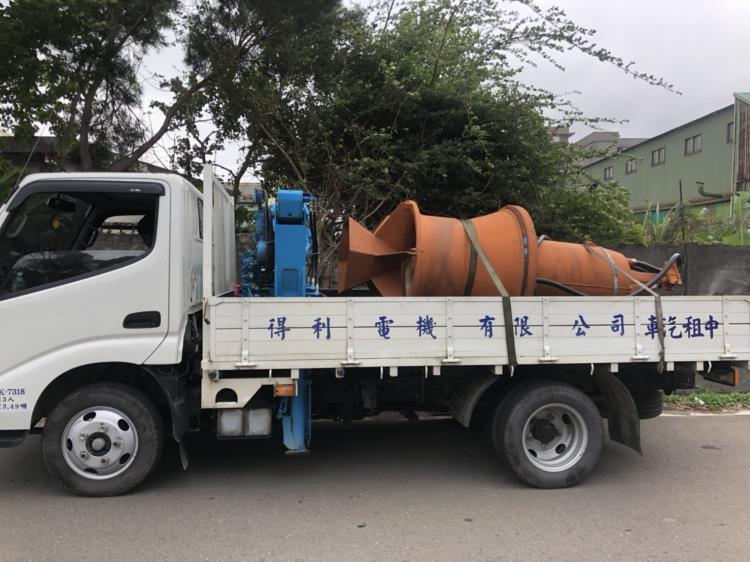 沉水泵 215HP 交貨