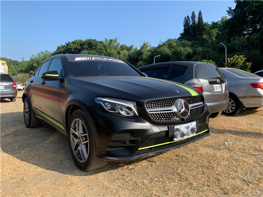 2018 BENZ GLC300 COUPE