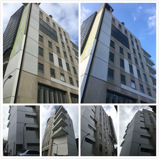 外牆拉皮-龍興大樓