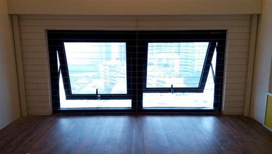 隱形鐵窗-推開窗