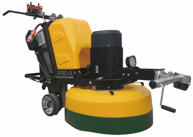 PRO-9型自走式研磨機
