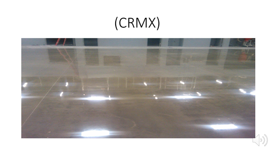 CorMAXX(CRMX)地坪研磨材料施作