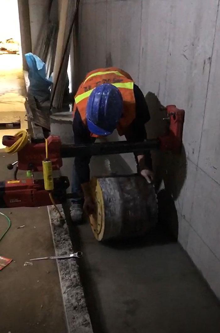鑽孔工程-施工前