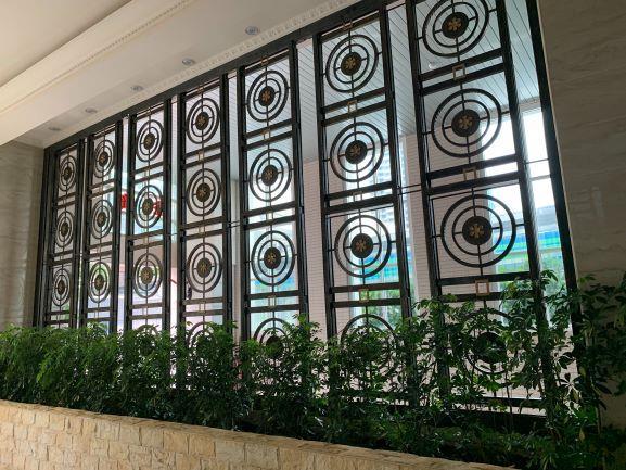 庭園鍛造欄杆