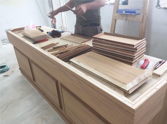 現場木工施作