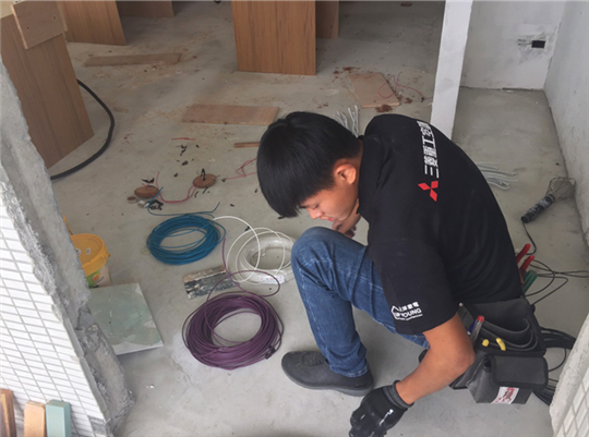 水電配管配線工程