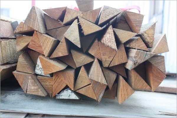 導角用三角木條