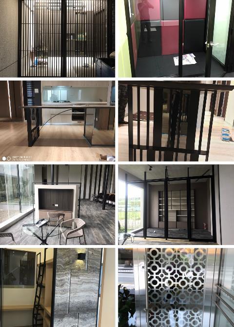 室內鐵件裝潢、室內鐵件工程