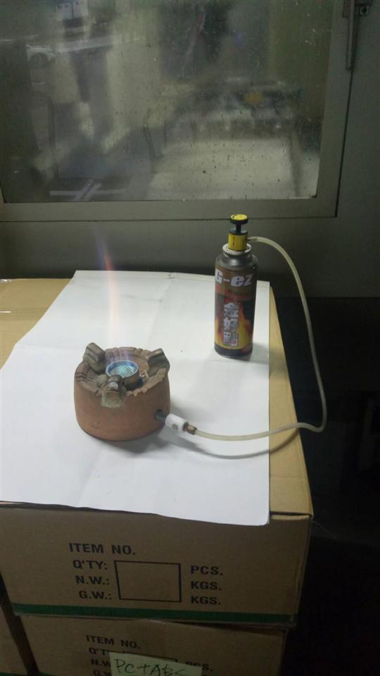 不鏽鋼輕便瓦斯爐架