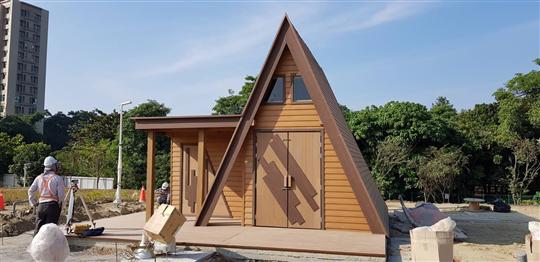 塑木小木屋