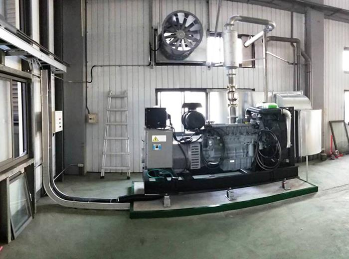 發電機新設工程