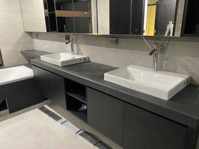 洗手檯石材工程
