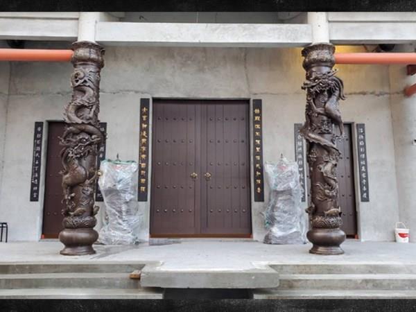 27-銅龍柱、客製銅龍柱0937-792999