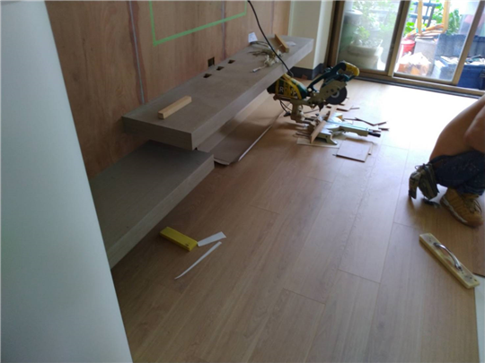 實木地板工程