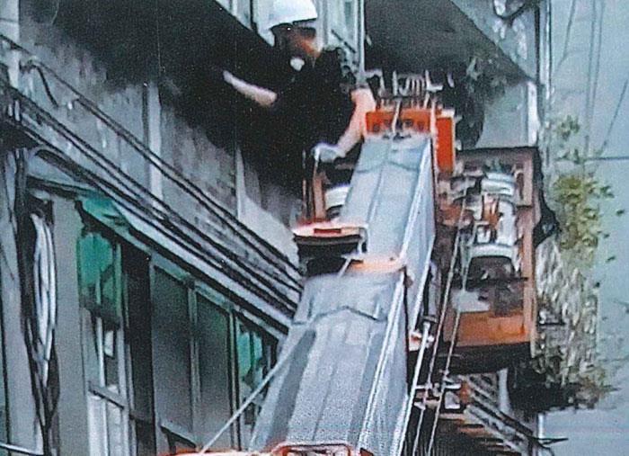 高空作業修繕工程