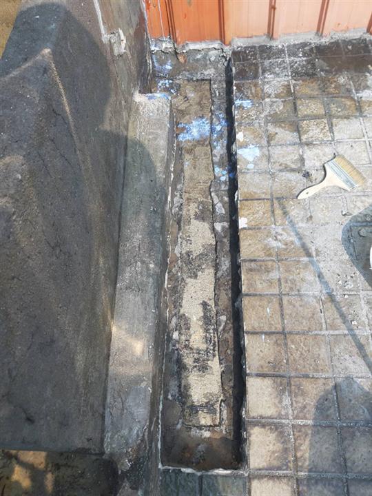 屋頂管道段水路